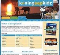 De website van Koning Aap Kidz