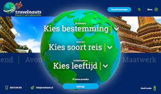 De website van Travelnauts