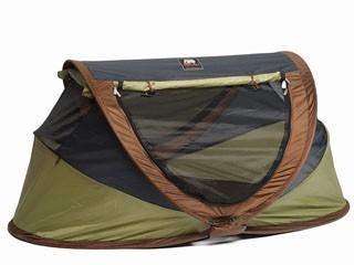 Deryan Baby Luxe Campingbedje Khaki.Deryan Travel Cot Peuter Luxe Verre Reizen Met Kinderen